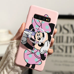 Minnie Mouse Silicone Case For Samsung Galaxy Series