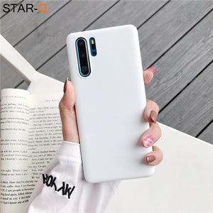 Candy color Silicone Phone Case for Huawei