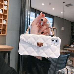 Crossbody Wallet Phone Case For iPhone 11 Pro Max 7 8 6 6s SE 2020 Plus Handbag Purse Silicone Case For iPhone XS Max XR X 10