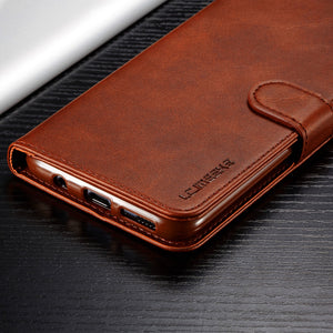 Wallet Flip Leather Phone Case For Samsung