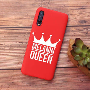 Melanin Queen Phone Case For Samsung