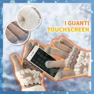 Guanti Touchscreen In Pile Extra-caldo
