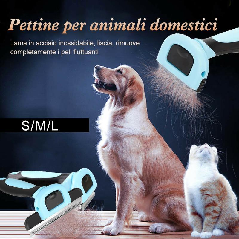 Pettine per animali domestici