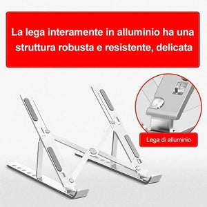 Supporto per laptop portatile