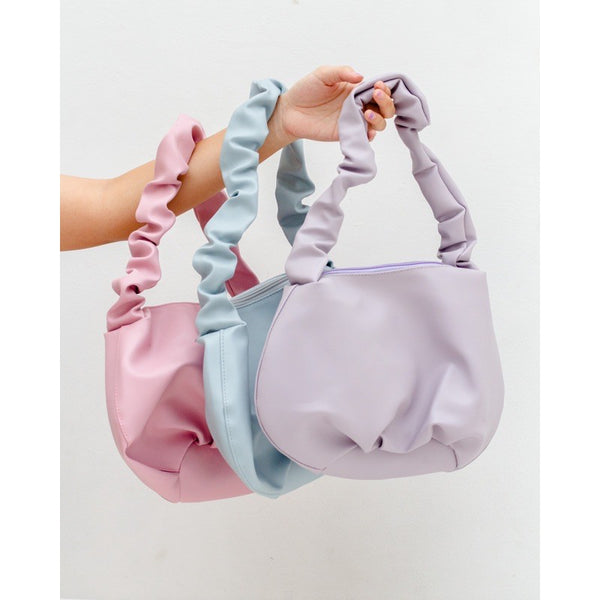 Shoulder Bag tas bahu kerut lollipop
