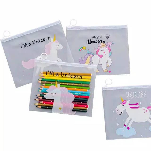 UNICORN MAKE UP POUCH IMPORT