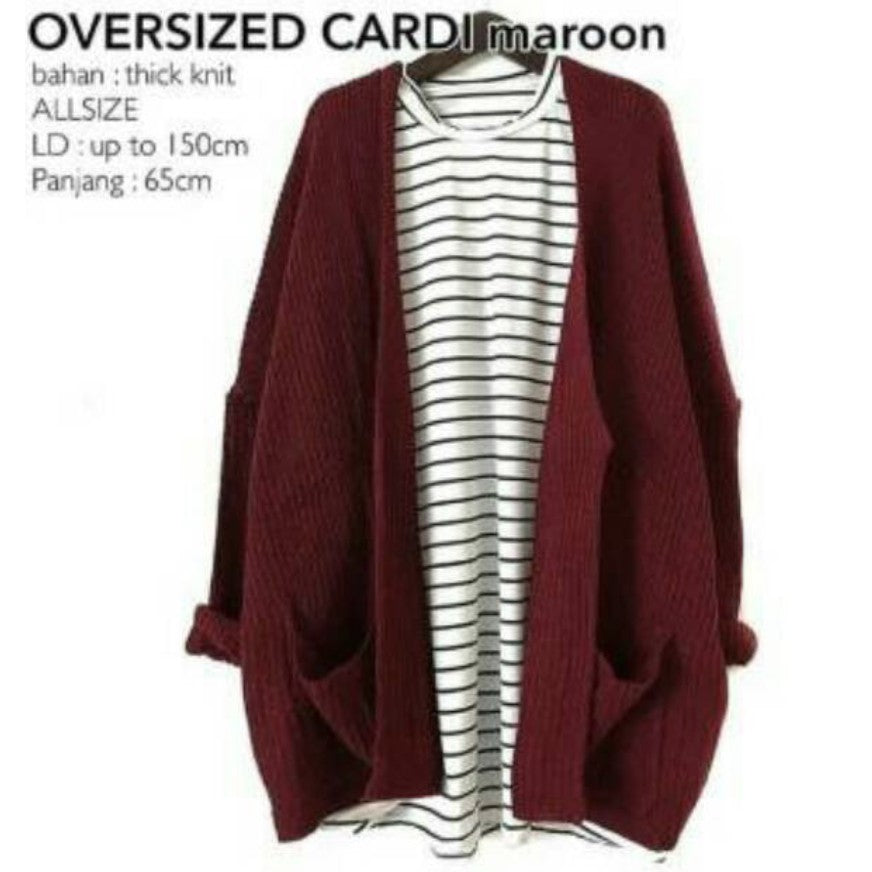 Knit Outer Rajut