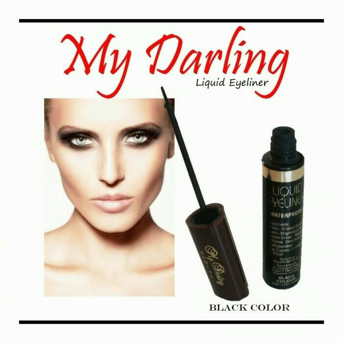 EYELINER MY DARLING BPOM WATERPROOF HITAM