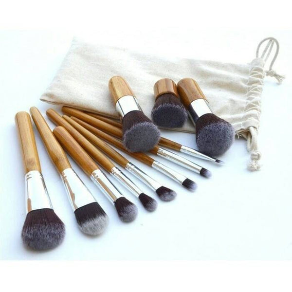 11 Set Kuas Makeup Brush