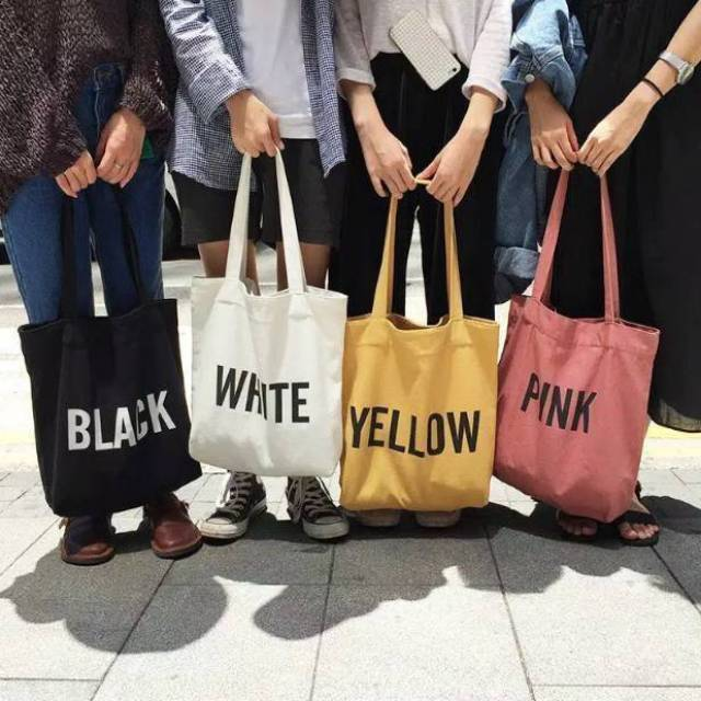 Totebag On Color