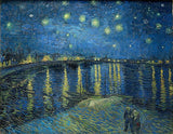 Starry Night Over the Rhône - Vincent Van Gogh