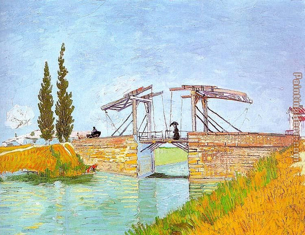 Langlois Bridge at Arles - Vincent Van Gogh