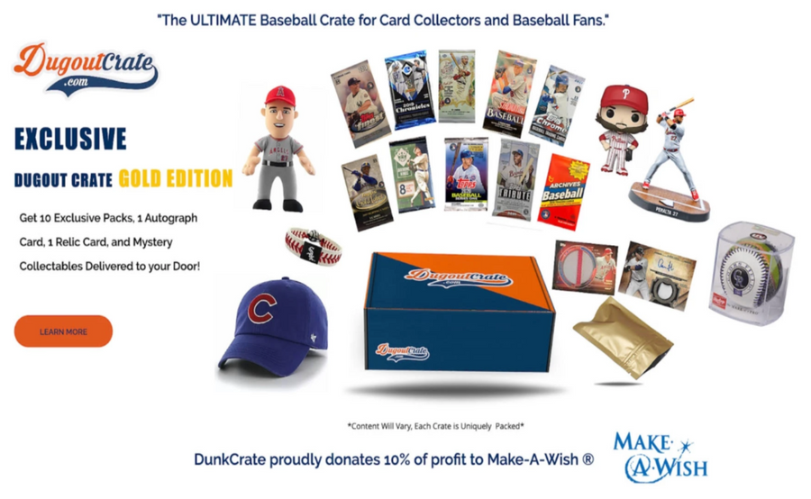 Dugout Crate Gold Edition - 3 Month Subscription