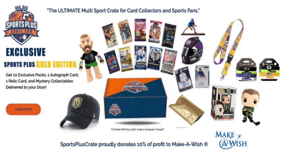Sports Plus Crate Gold Edition - 3 Month Subscription