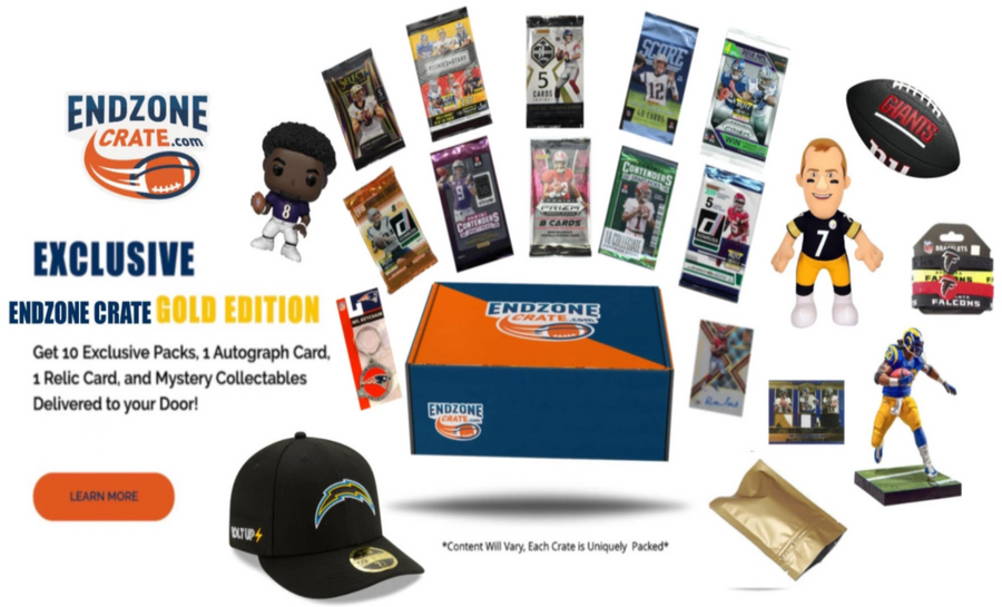 Endzone Crate Gold Edition