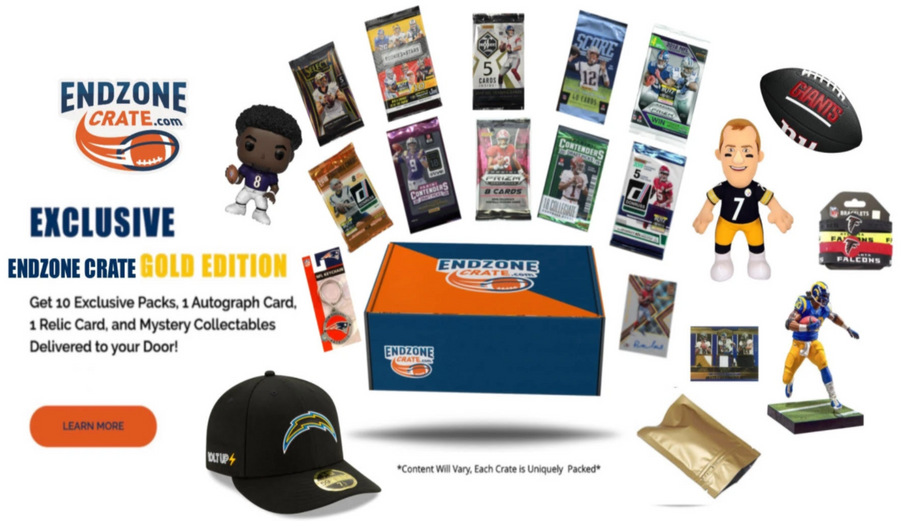 Endzone Crate Gold Edition - 3 Month Subscription