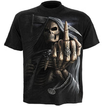 Load image into Gallery viewer, BONE FINGER - T-Shirt Black