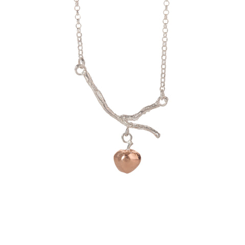 By Emily Gold Miniature Hare Necklace 8B01E
