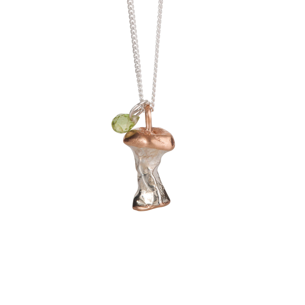 Apple Core Necklace