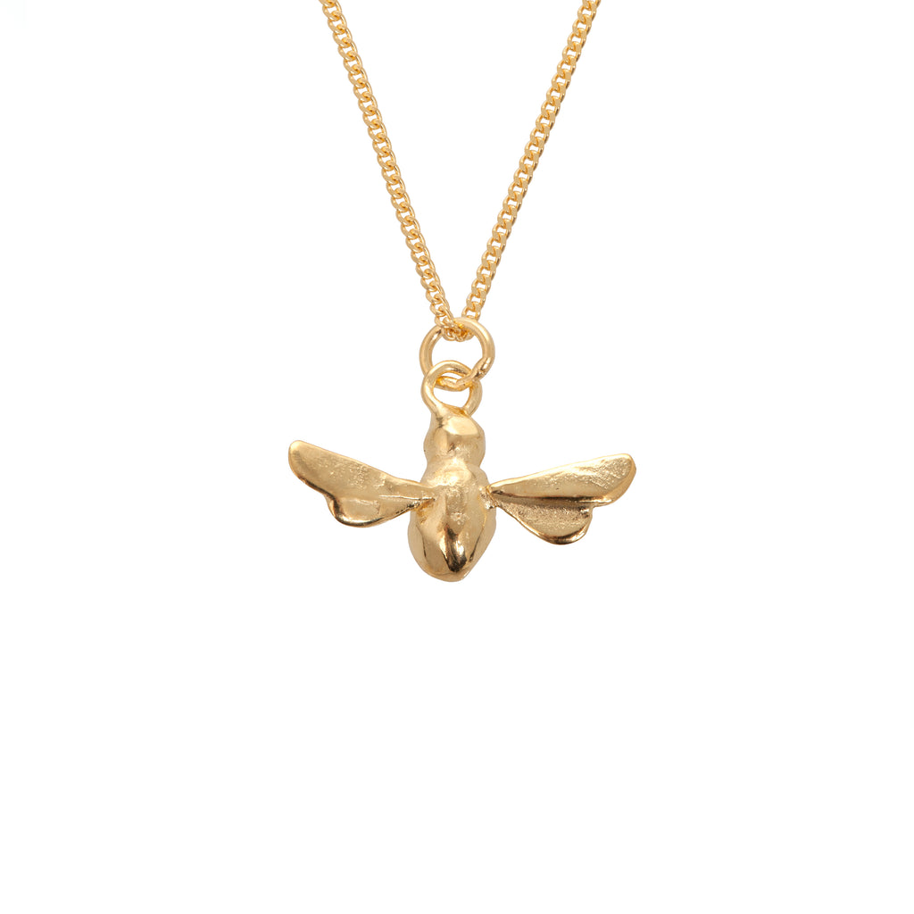 Gold Bee Mine Necklace