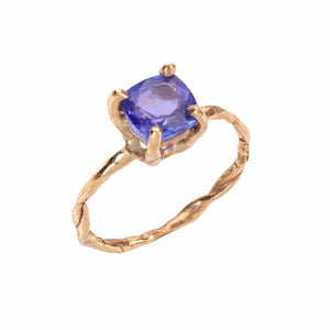 Gold Tanzanite Ring