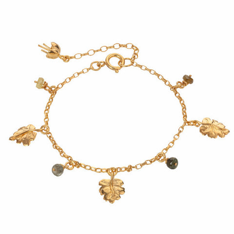 Just So Leaf Charm Bracelet