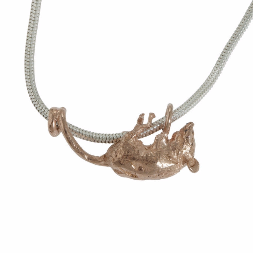 Scrambling Harvest Mouse Necklace