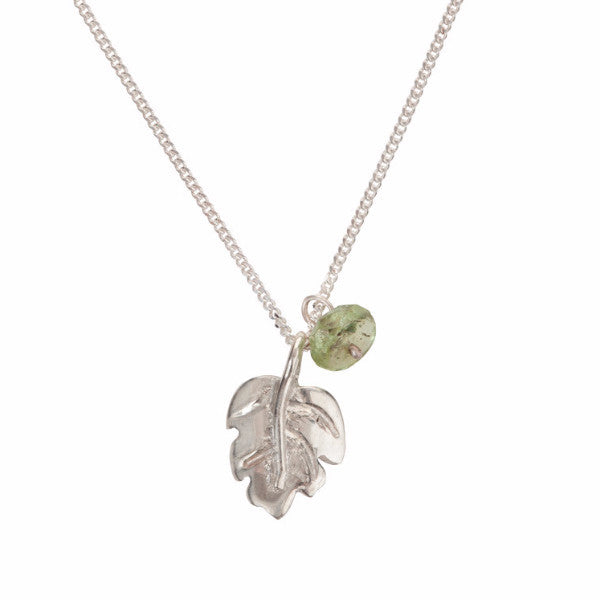 Just So Leaf Necklace