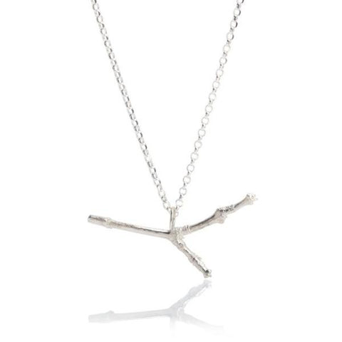 Wintery Twig Necklace