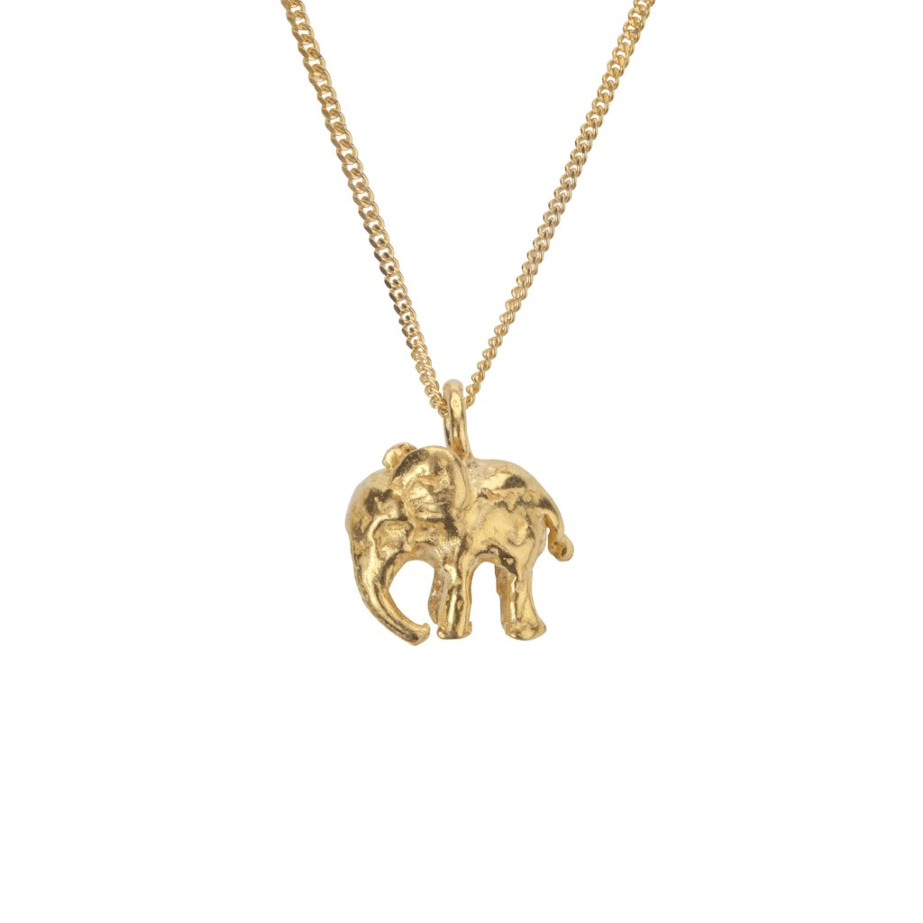Tiny Elephant Necklace