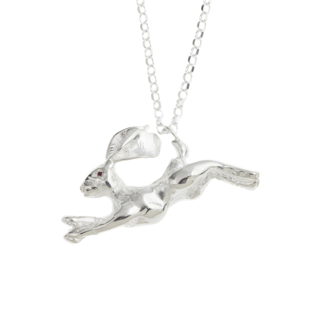 Hare Statement Necklace