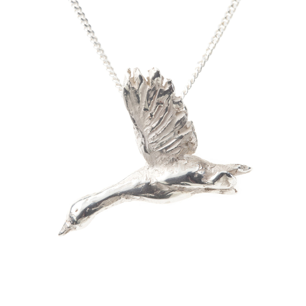 Snow Goose Necklace