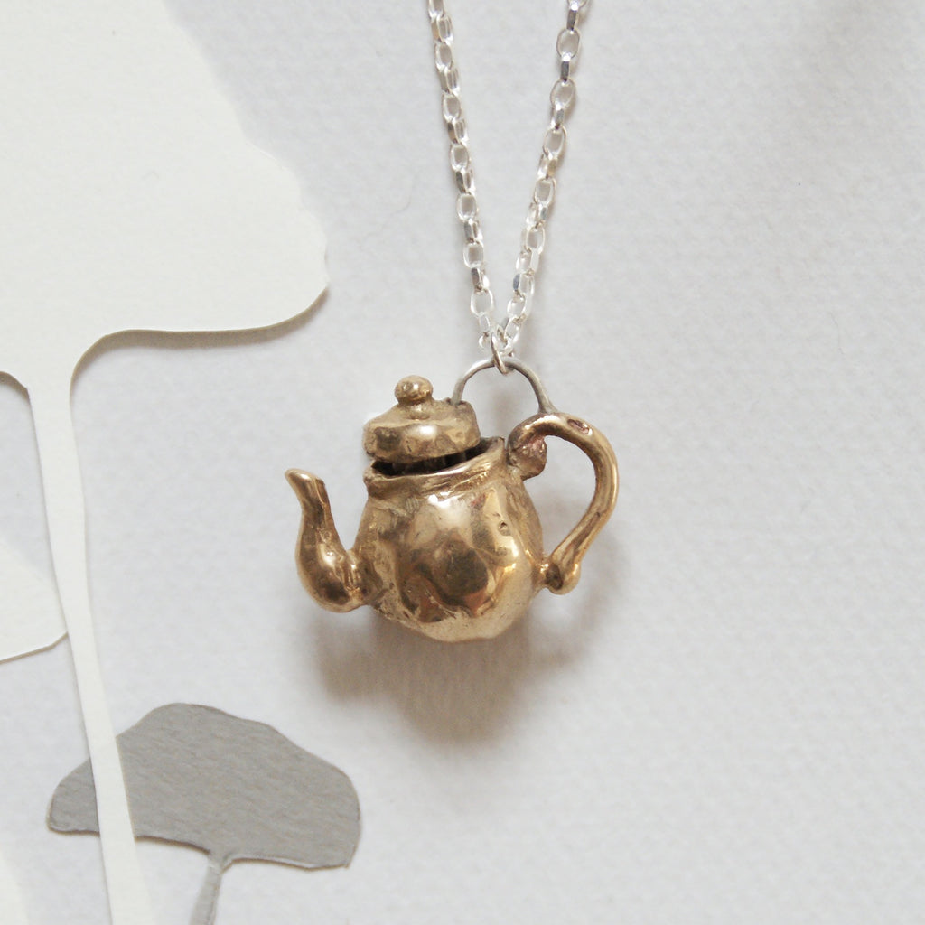 Alice's Teapot Necklace
