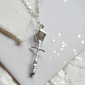 Lamp Post Necklace