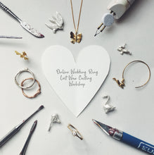 Online Wedding Ring Wax Carving Workshop