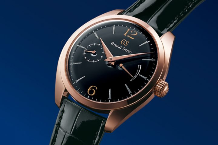 Four New Hand-Wound Elegance Models By Grand Seiko
