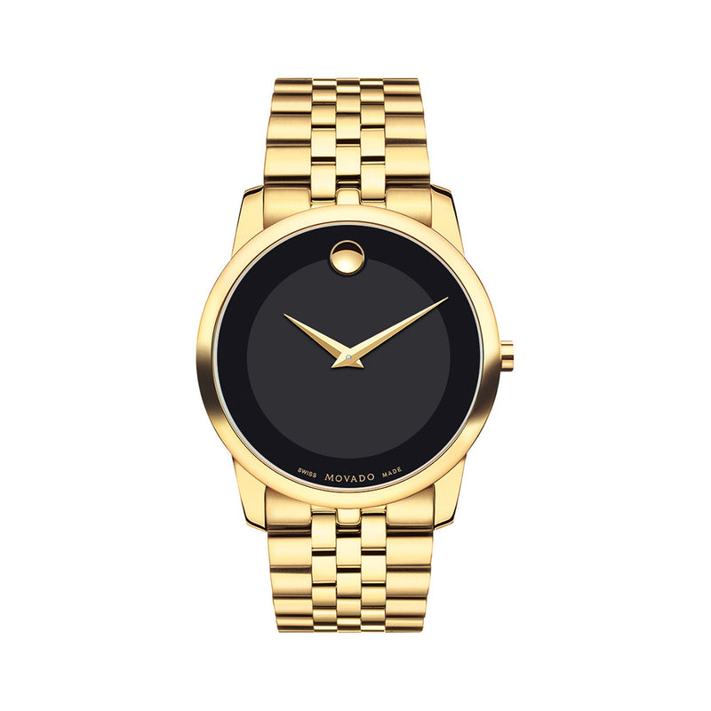 Movado Museum Classic Yellow PVD 0606997
