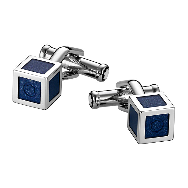 Blue Lacquer Heritage Cufflinks
