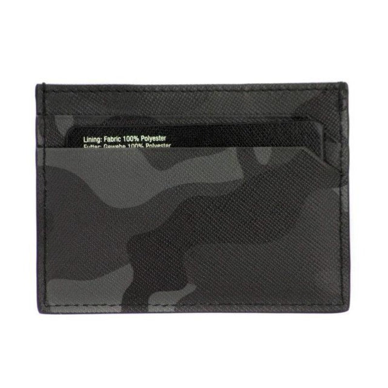 Grey Camo Leather 5CC Holder