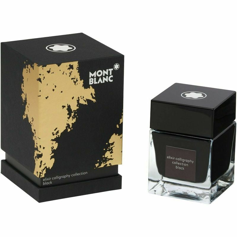 Ink Bottle 50 ml, Elixir Calligraphy Black