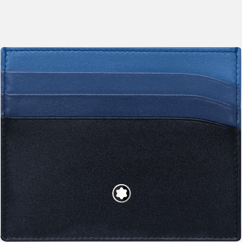 Meisterstück Blue Ombre Pocket Holder 6cc