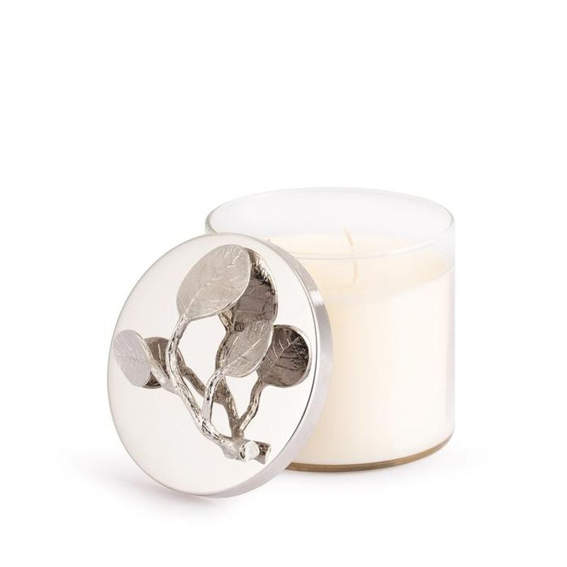 Botanical Leaf Candle