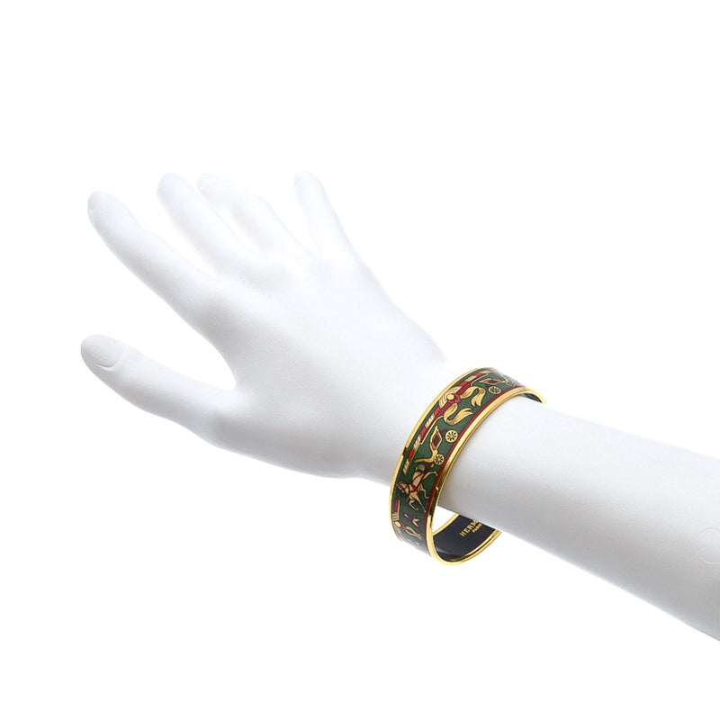 Hermès  Enamel Bangle PM Wide