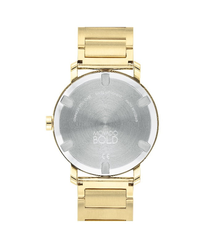 Movado Bold Evolution Gold Watch 3600508