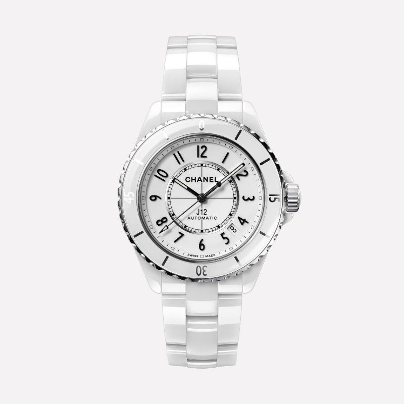 Chanel J12 White Ceramic 38mm Watch H5700