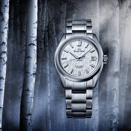Grand Seiko White Birch Hi-Beat SLGH005