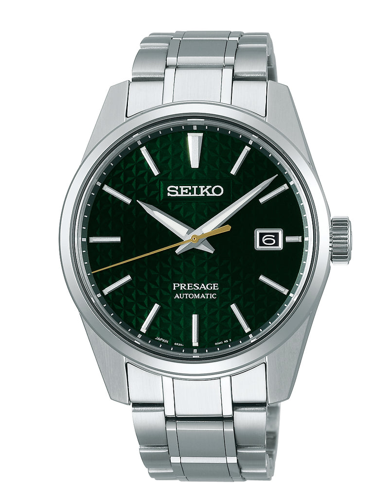 Seiko Presage Sharp Edged Series Green Dial SPB169J1