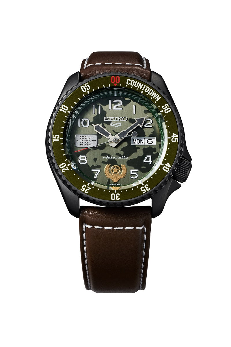 Seiko 5 Street Fighter Guile Limited Edition SRPF21K1