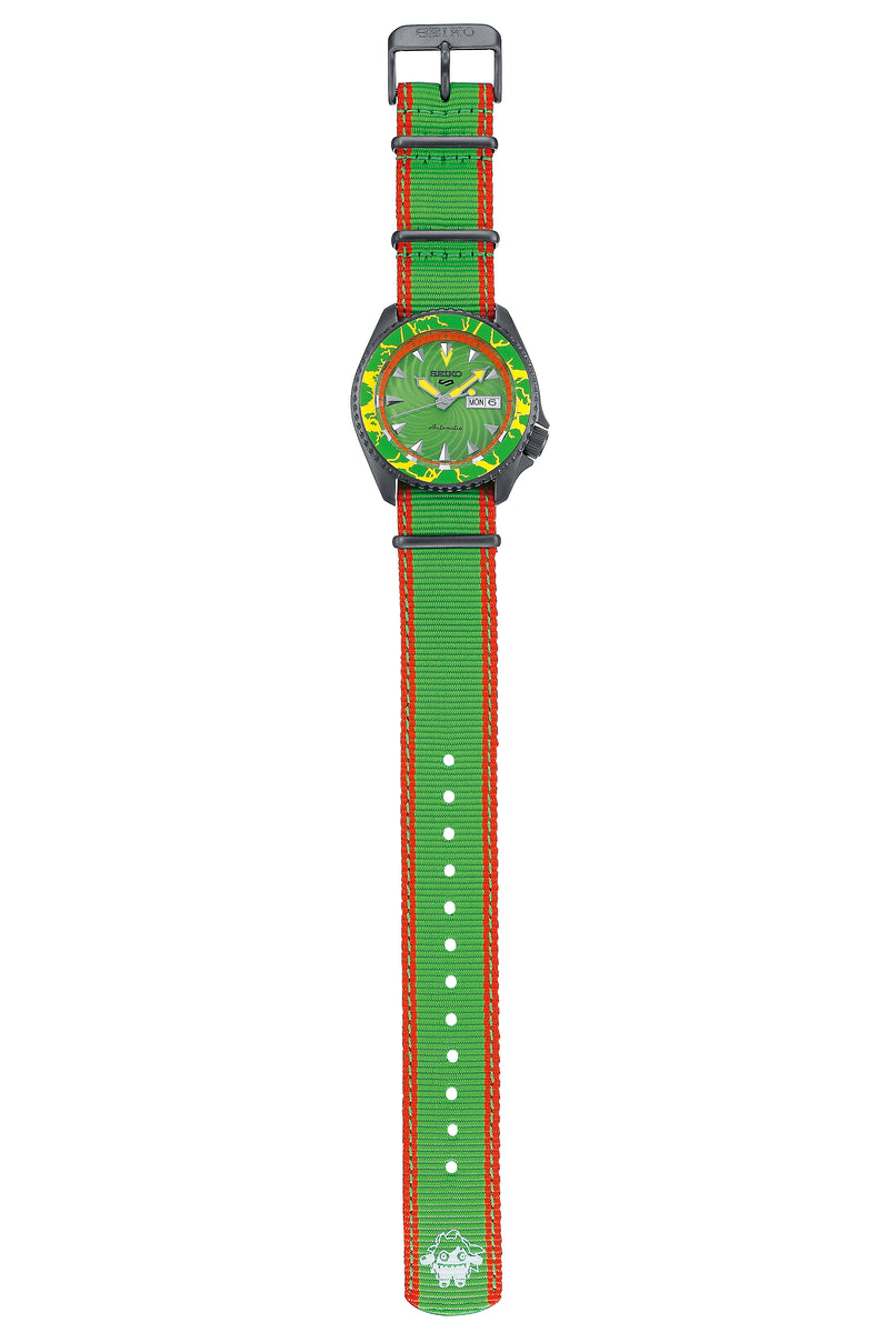 Seiko 5 Street Fighter Blanka Limited Edition SRPF23K1