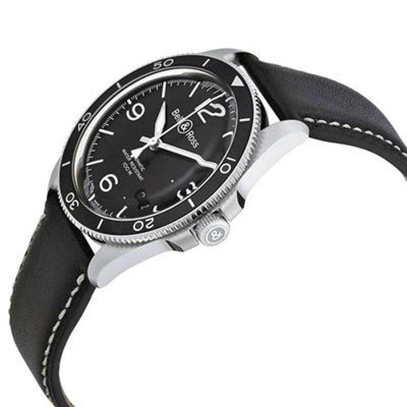 Bell and Ross Black Steel BRV292-BL-ST